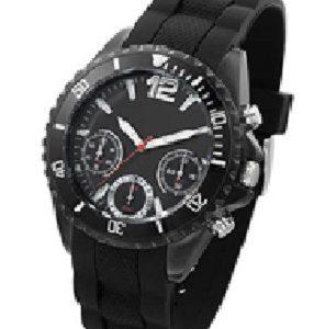 cronograaf horloge met logo opwijzerplaat