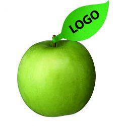 Appel met laser gravering